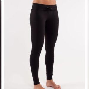 Lululemon Will Pant Black Skinny Leggings